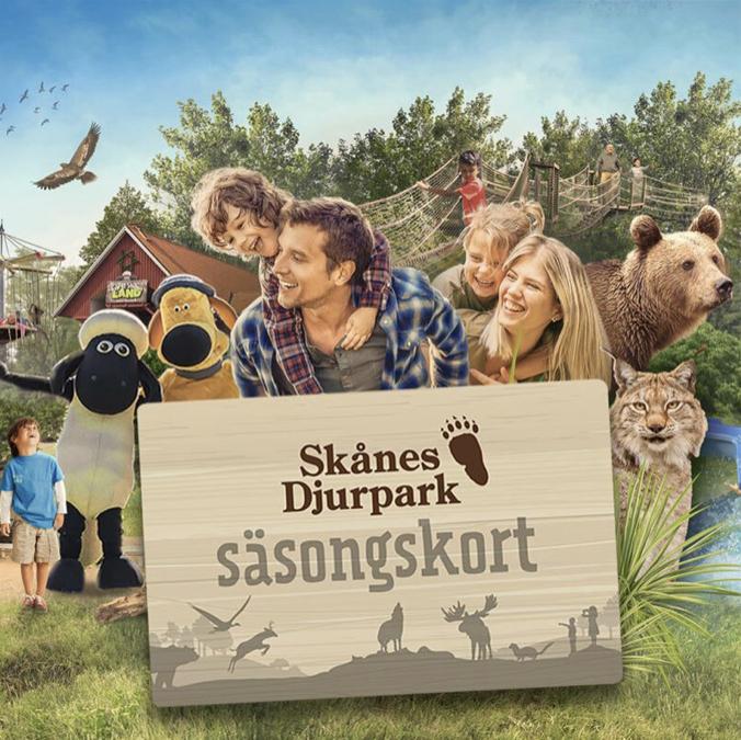 Rabatt på Skånesdjurpark