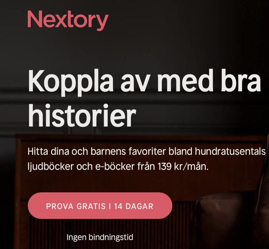 Gratis Nextory